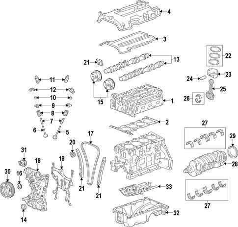 chevy cruze engine diagram 55562233 head gasket for 2013 chevrolet cruze