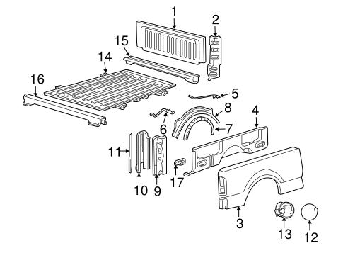 housing genuine ford 4l3z 9927936 ba. Black Bedroom Furniture Sets. Home Design Ideas