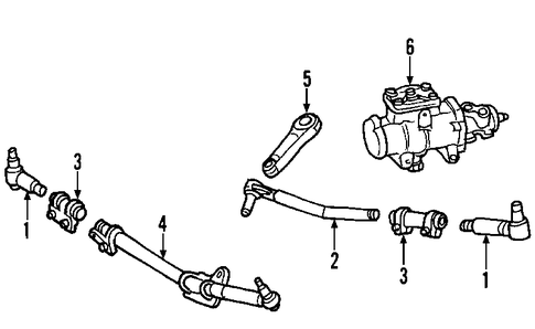 Ford F53 Steering Linkage Diagram
