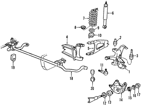 suspension components for 1995 ford f-150 1995 f150 parts diagram 2010 ford f150 parts diagram #11
