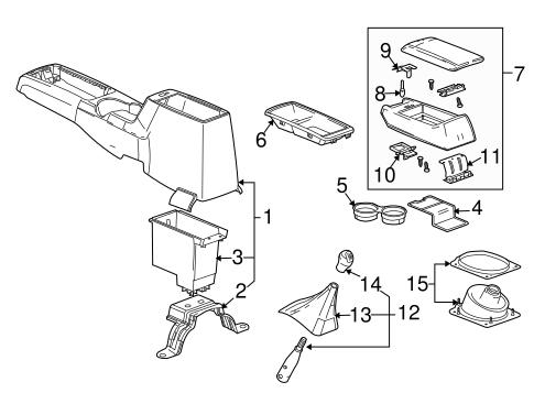 Auto Center Console To Manual