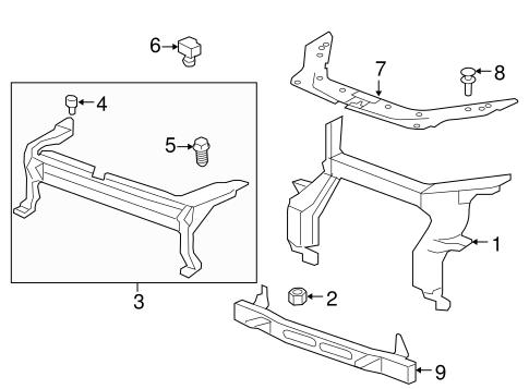 oem switches sensors for 2014 gmc acadia. Black Bedroom Furniture Sets. Home Design Ideas