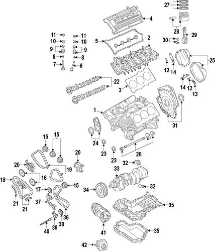 ENGINE For 2006 Audi A6 Quattro