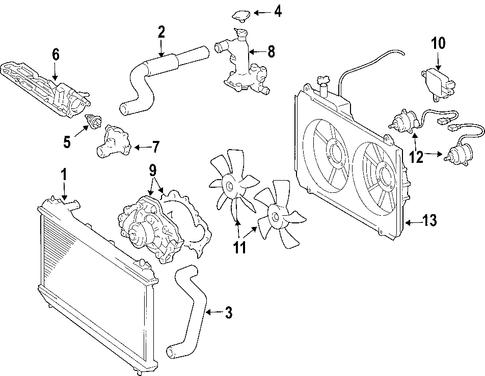 Toyota Sienna Exhaust System Diagram