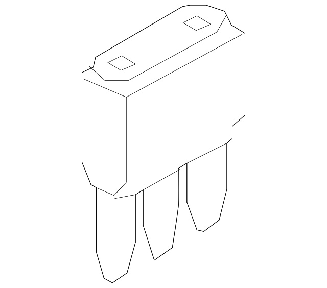 mini fuse for 2014 ford fusion dg9z 14526 r. Black Bedroom Furniture Sets. Home Design Ideas