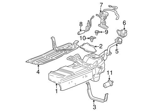 2001 Ford Sport Trac Parts Diagram