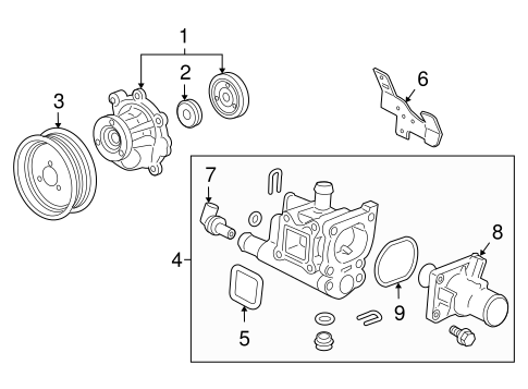 cadillac catera thermostat replacement
