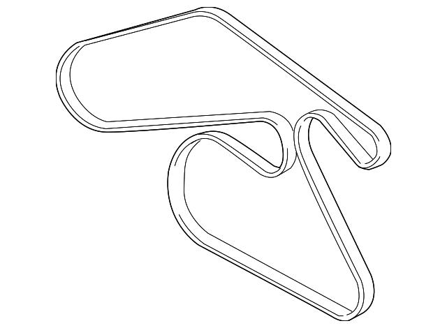 Buick Lacrosse Serpentine Belt