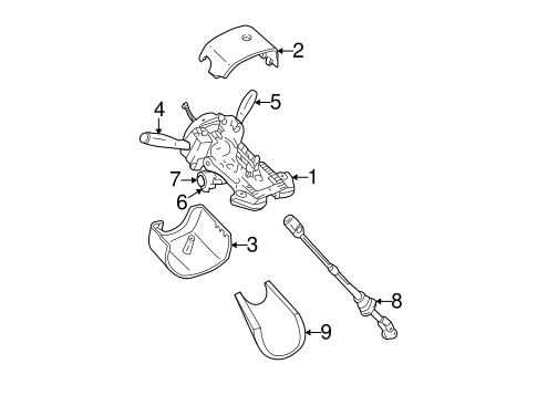 2000 jeep grand cherokee turn signal wiring diagram steering column assembly for 2000 jeep grand cherokee 2000 jeep grand cherokee steering colum wiring diagram #2
