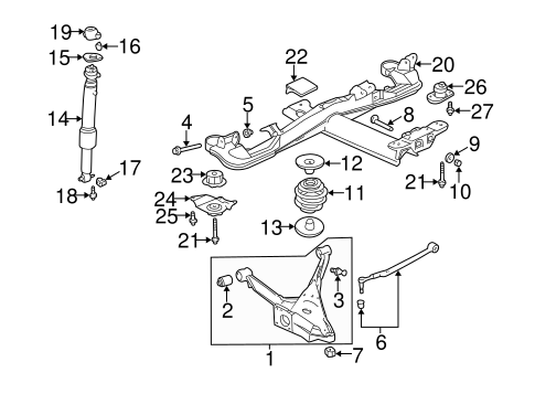 Wiring Diagram 2000 Buick Lesabre Rear Suspension