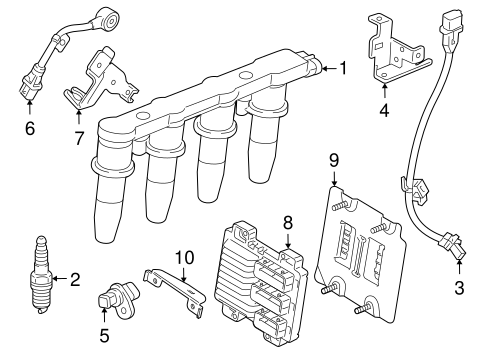 2012 Traverse Cooling System Diagram