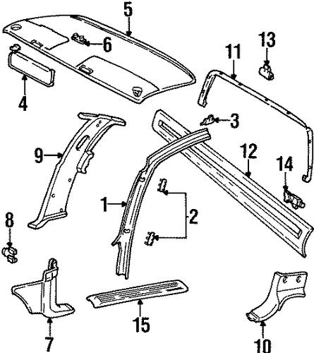 Exceptional Chevy Interior Parts 7 1990 Chevy Truck Interior Parts