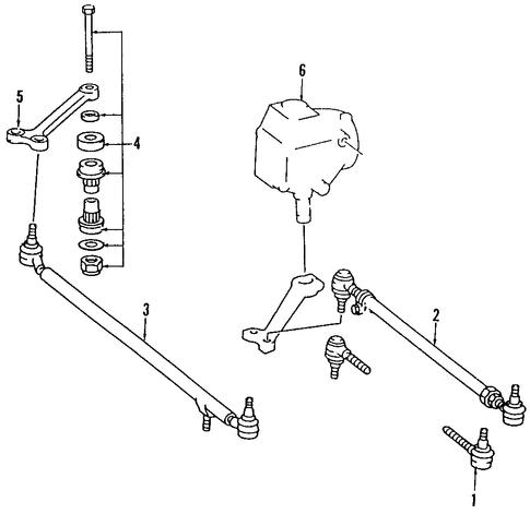 Power Steering Pressure Hose Genuine 18