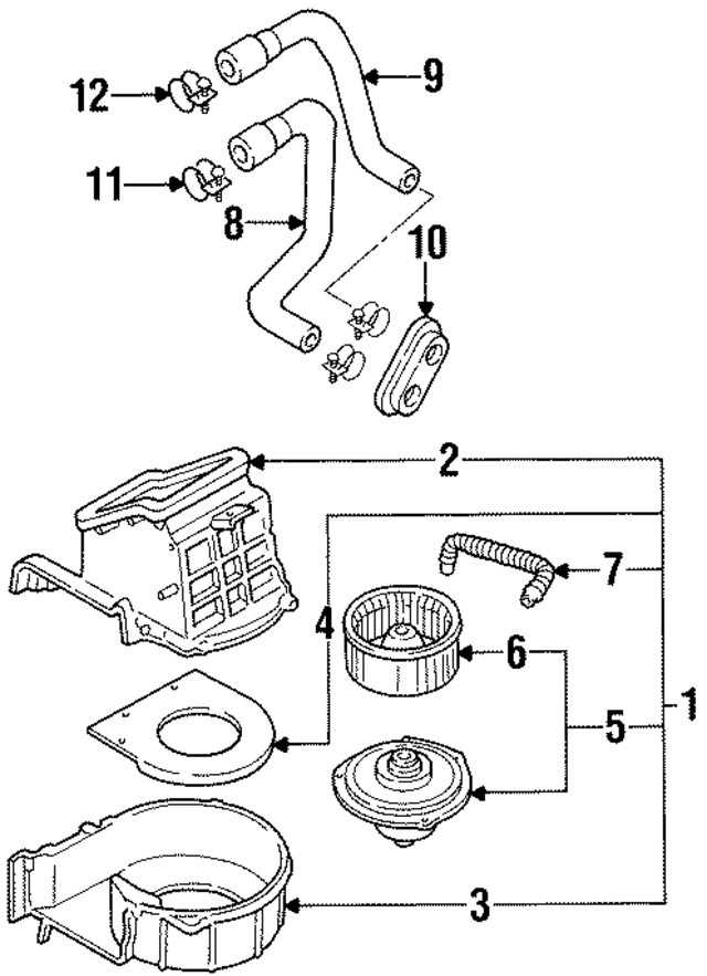 Hose Diagram 1990 300zx