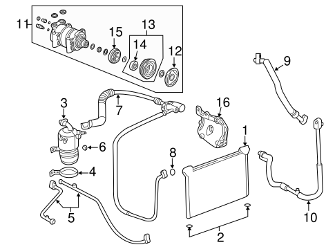 T23954772 Belt routing diagrams moreover Condenser  pressor And Lines Scat besides In Cab Fuse Box For A 08 Buick Lucerne also 83 Vortec V8 Truck besides 2006 Buick Redevous 3 5 L Spark Plug Wiring Diagram. on diagram of buick lucerne engine