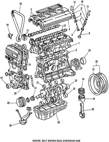 genuine oem engine parts parts for 1991 toyota mr2 turbo ... 1991 toyota mr2 engine diagram hvac system diagram 1991 toyota mr2