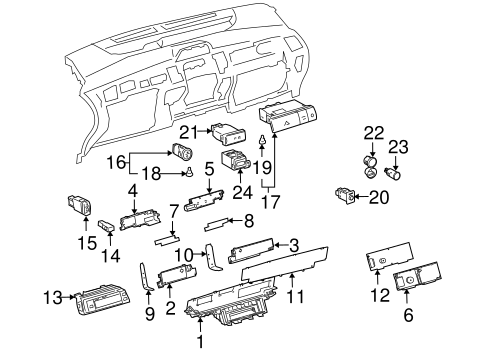 P 0996b43f80382ca4 likewise 2001 Toyota Echo Belt Routing Diagram together with Toyota Solara Radio Wiring Diagram furthermore 2010 07 01 archive as well 251280130019. on 2003 toyota sequoia parts diagram