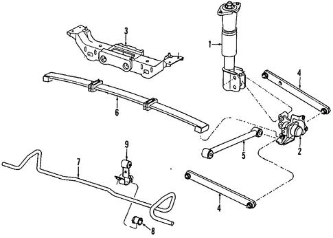 rear suspension for 1998 chevrolet lumina. Black Bedroom Furniture Sets. Home Design Ideas