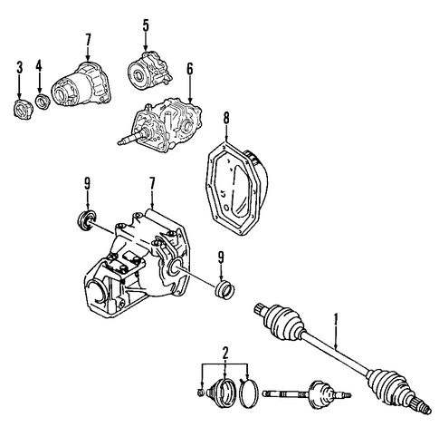 Ford Explorer Transfer Case Diagram