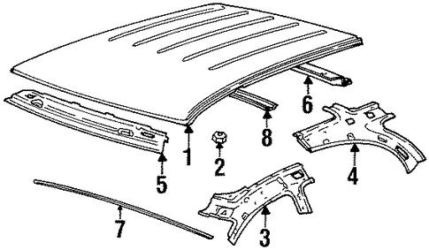 B D E Bcc A B F F on 1996 Firebird 3800 Sensor Location Diagram