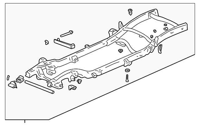 Oem Frame Assy 21997058 For Your Gm Vehicle