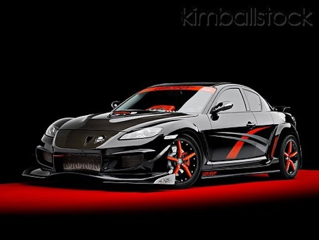 Black night rx8