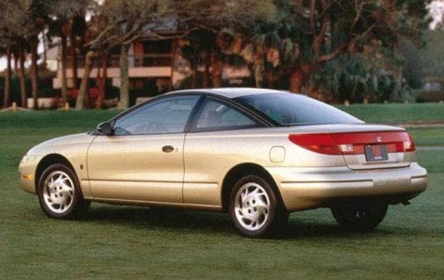 Saturn gold coupe