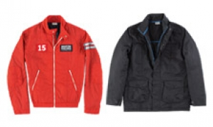 Porsche jackets for men: sporty and stylish.