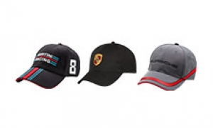 Motorsports caps from Porsche Driver's Selection.