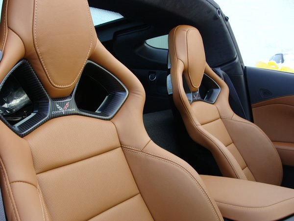 Monotone Corvette Seat Covers