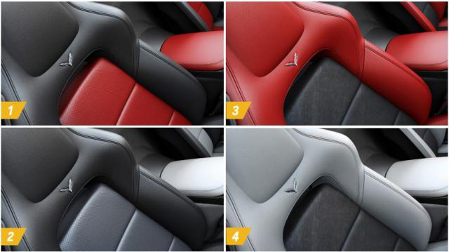 Two Tone Corvette Seat Covers