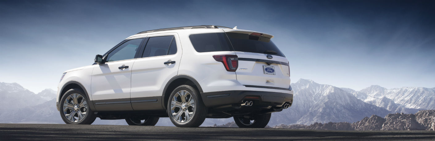 ford explorer white on mountain_o