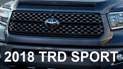 TRD Sport Tundra Grille