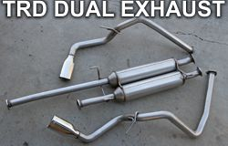 Tundra TRD Dual Exhaust