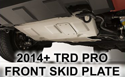 TRD Pro Front Skid Plate