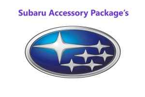 Subaru Accessory Packages