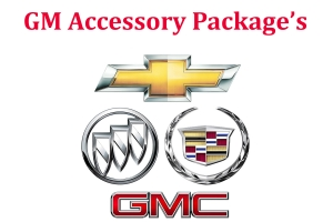 Chevrolet Cadillac Buick GMC Accessory Packages