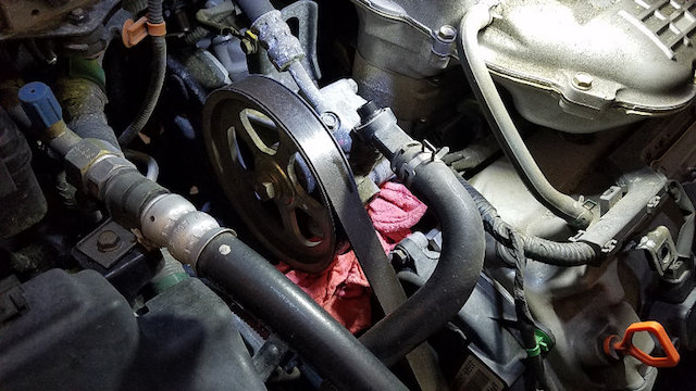 How To Replace A Power Steering Pump Assembly In A Honda Pilot Honda Parts Online