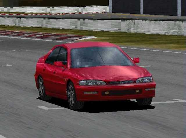 Video Honda red accord