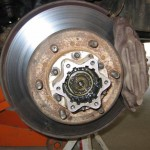 Toyota FJ Cruiser Maintenace – Replace Front Brake Pads