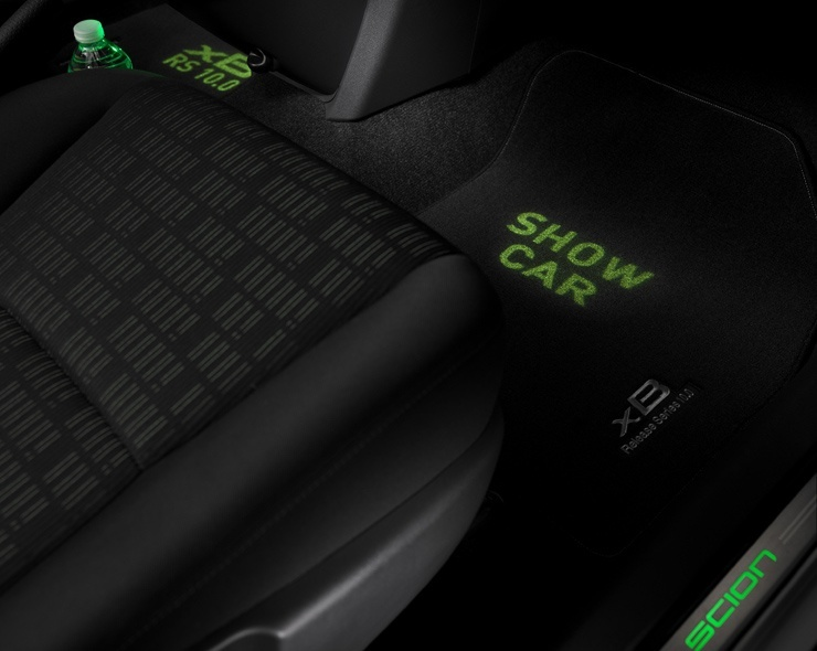 Scion Debuts xB Release Series 10.0 at New York International Auto Show - Interior Projection