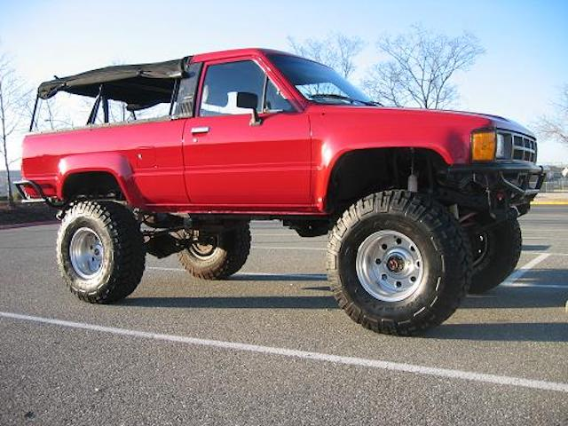 4runner red ragtop