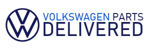 Volkswagen Parts Delivered Logo