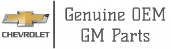 Genuine OEM GM Parts Logo