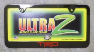 LICENCE PLATE FRAMES corolla