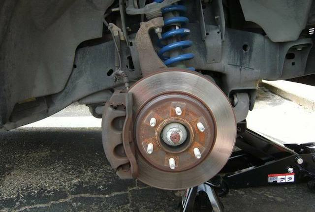 Change ford rotor