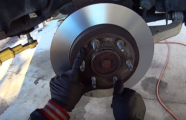 Ford rotor replacement
