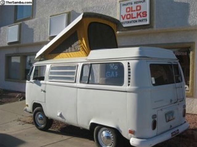 1971 Westfalia VW Campervan