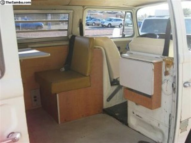 1971 Westfalia VW Campervan Interior