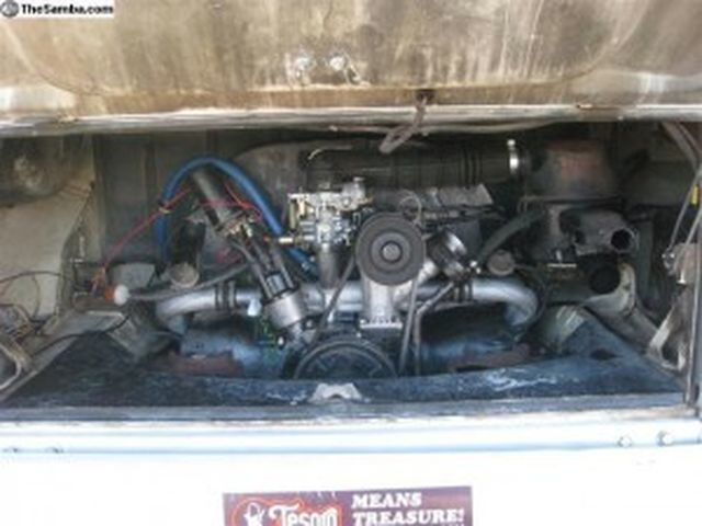 1971 Westfalia VW Campervan Engine
